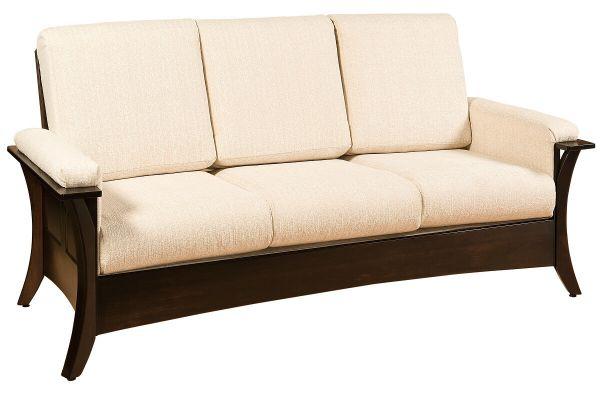 Rockefeller Amish Shaker Sofa Countryside Amish Furniture