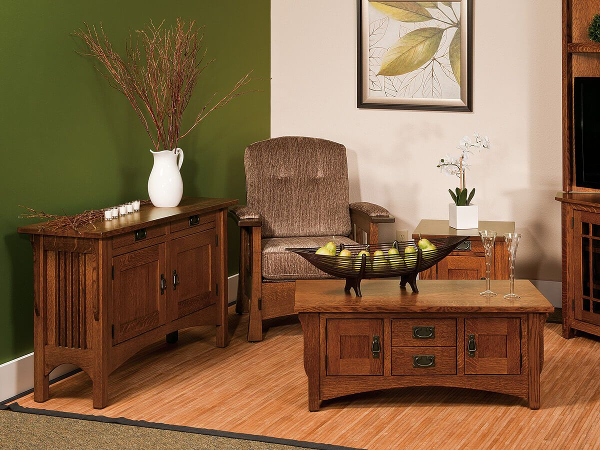 Solid Wood Mission Furniture