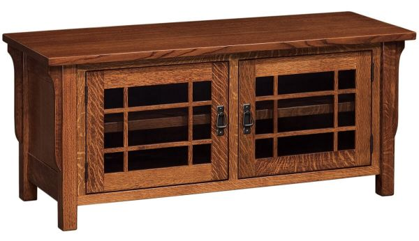 Rushmore 2-Door TV Stand