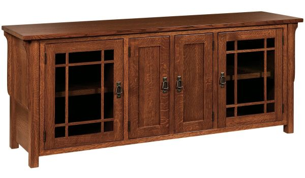 Rushmore 4-Door TV Cabinet