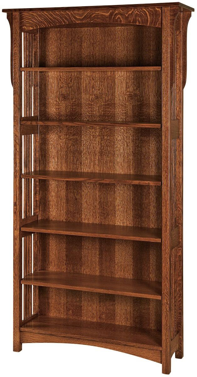 Quartersawn White Oak Bookcase