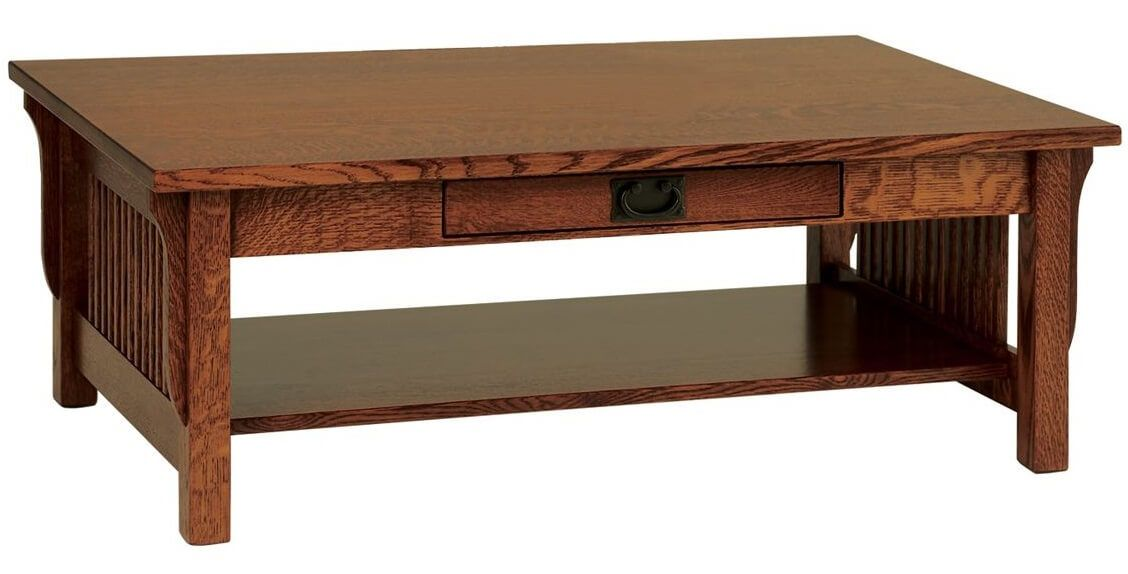 Rectangle Mission Coffee Table