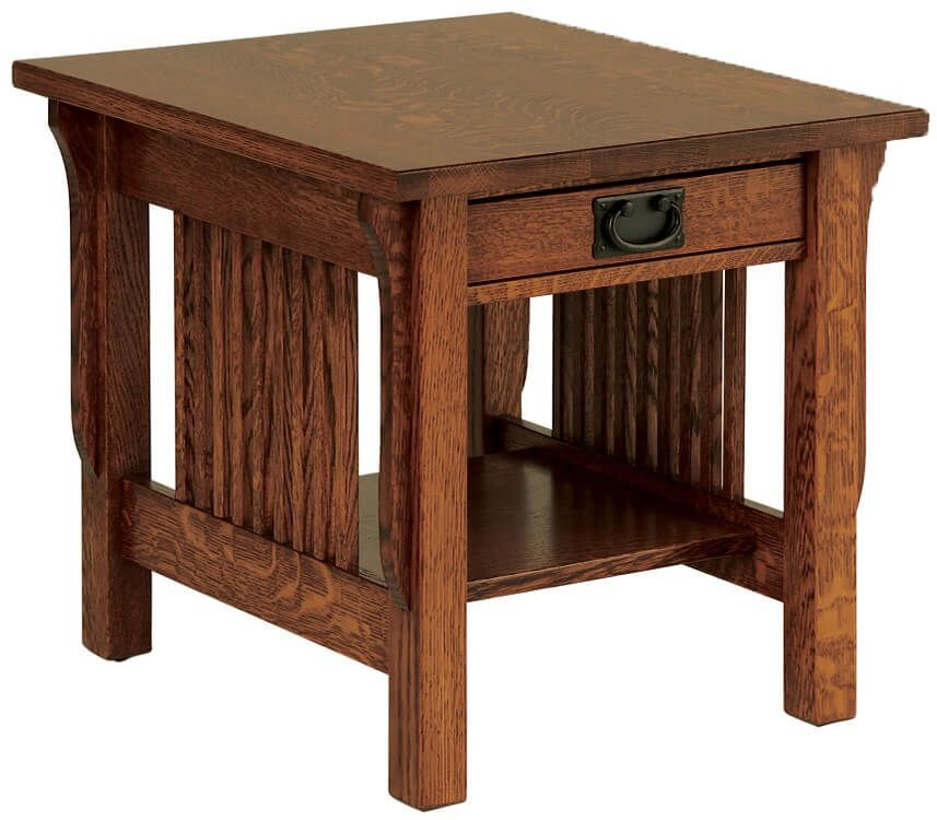 Rushmore Mission End Table