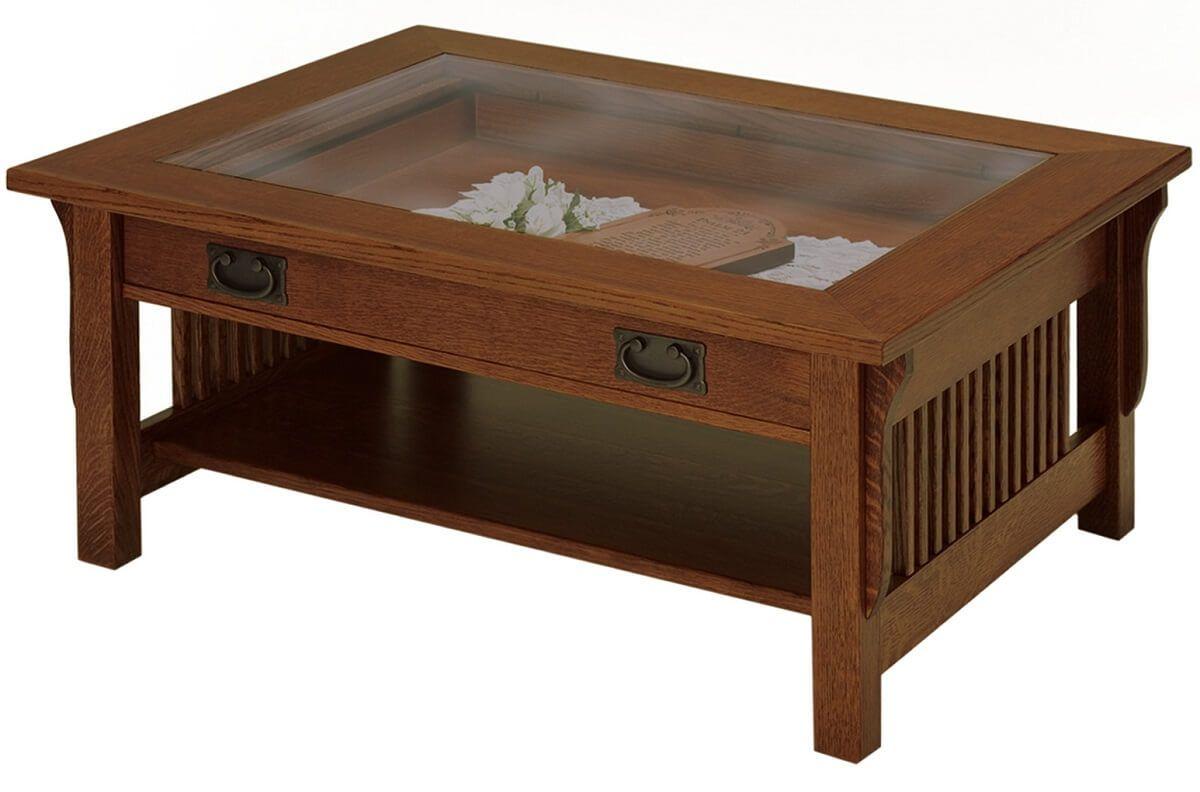 Shadow Box Mission Coffee Table