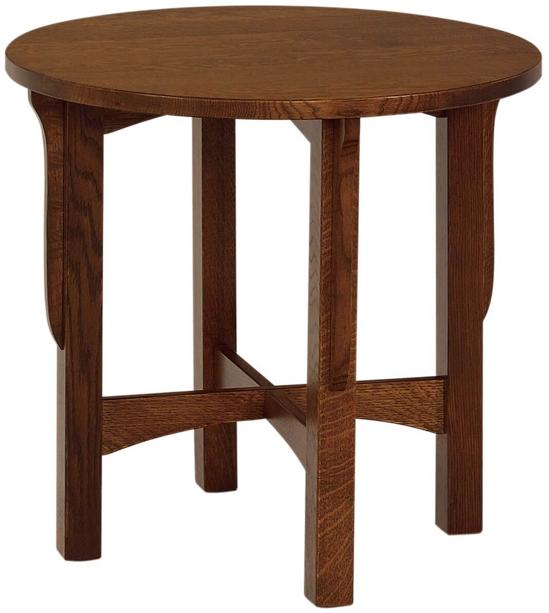 Rushmore Large Round End Table