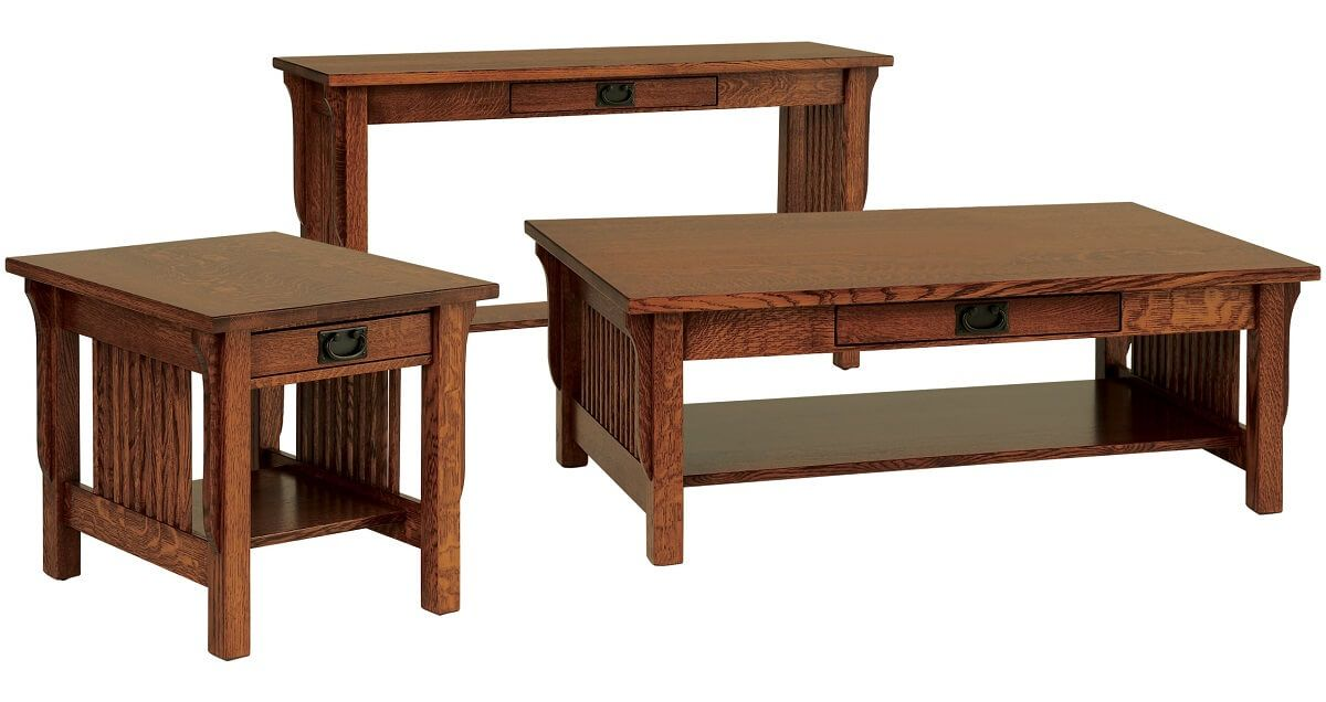 Rushmore Mission Occasional Tables