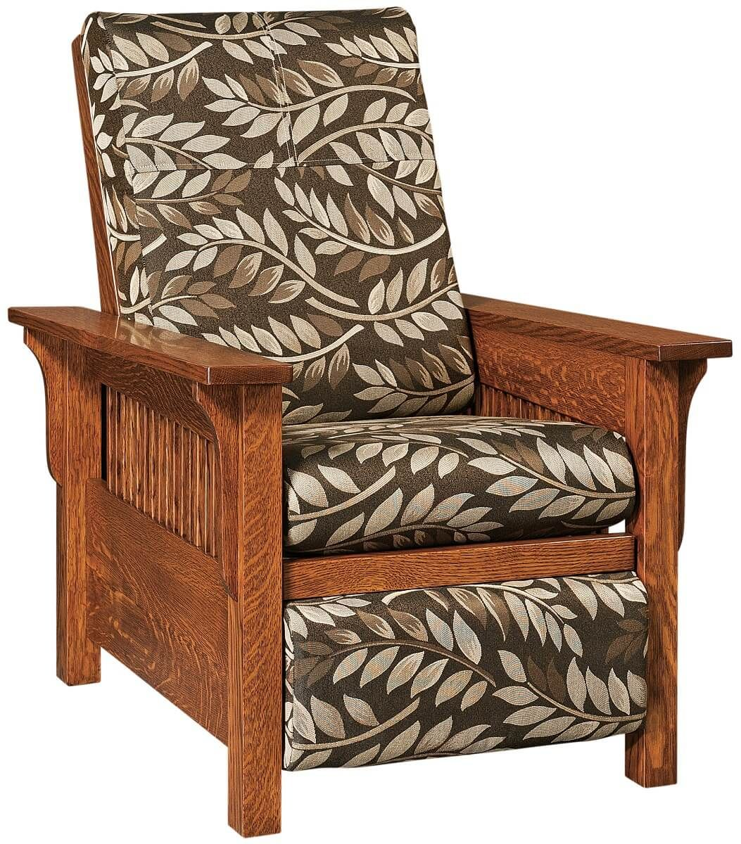 Mission Style Living Room Recliner
