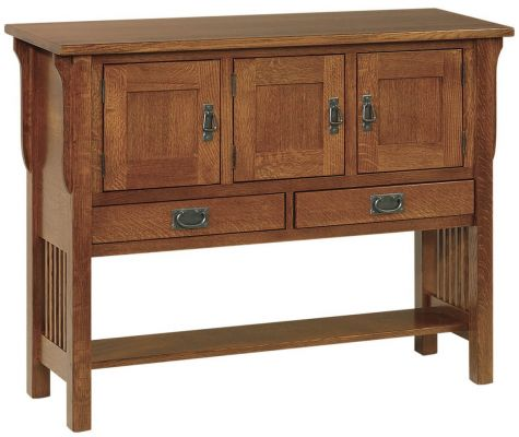Rushmore Mission Sideboard