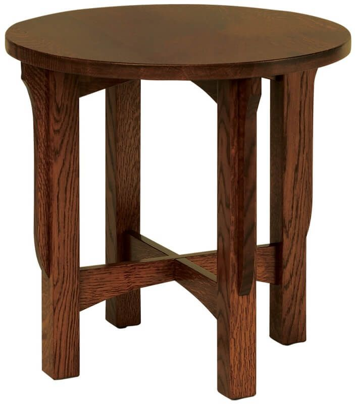 Rushmore Small Round End Table