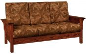 Rushmore Mission Hardwood Sofa