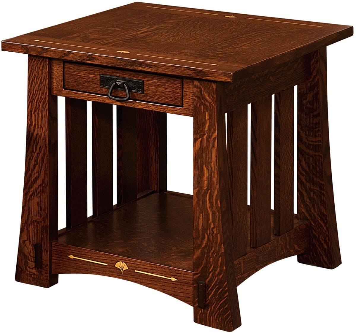 Santa Clara Craftsman End Table