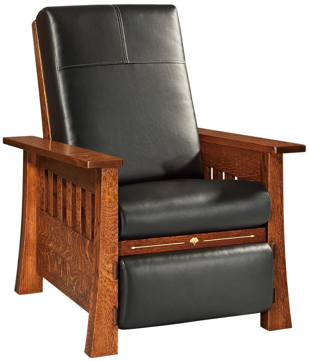 Amish Leather Recliner