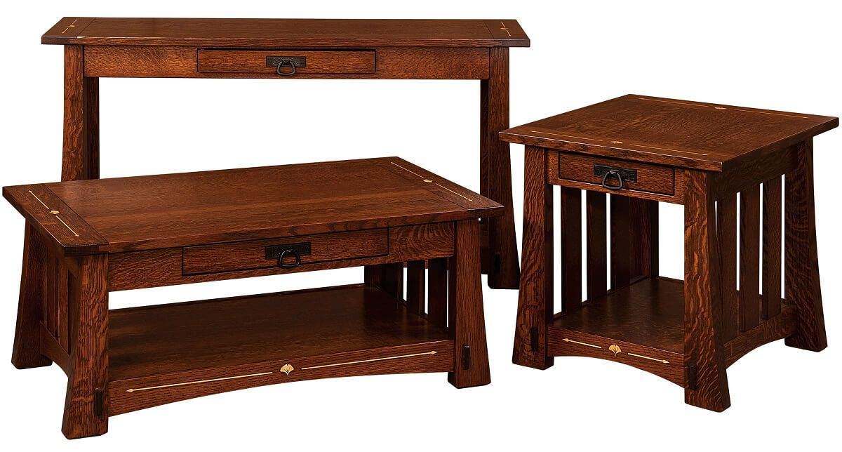 Arts and Crafts Occasional Tables