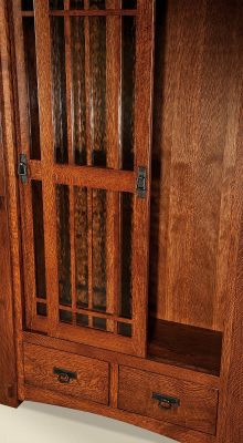 Sliding Glass Bookcase Doors