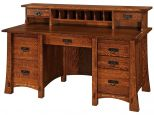 Craftsman Desk with Topper