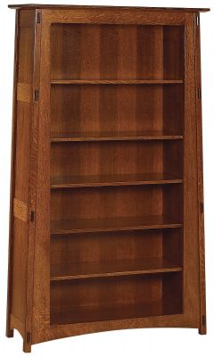 Craftsman Bookcase with Adjustable Shelves