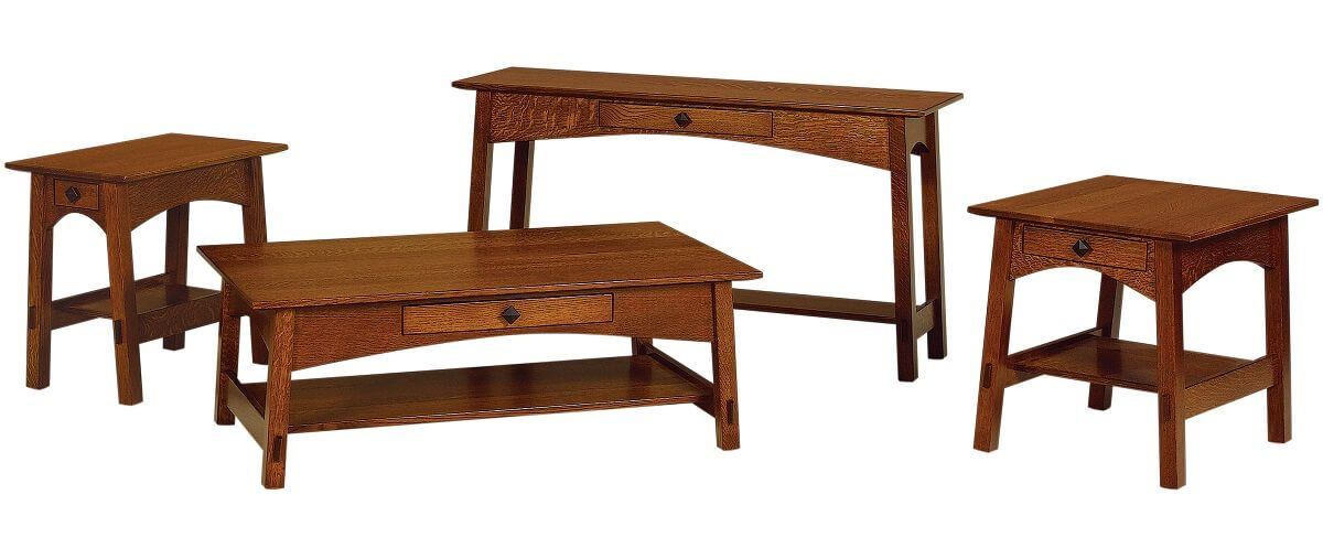 Open Craftsman Occasional Tables