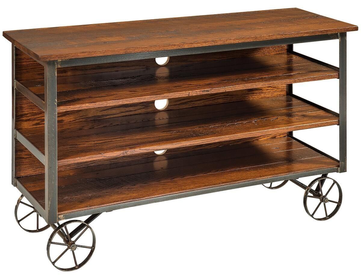 Steeldel Reclaimed TV Cart