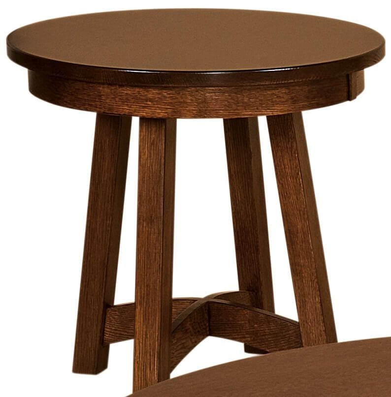 Tempe Round End Table