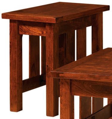 Narrow Rustic Accent Table