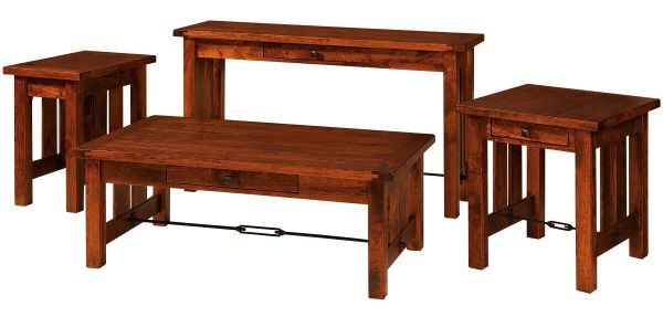 Tucson Occasional Tables in Rustic Cherry
