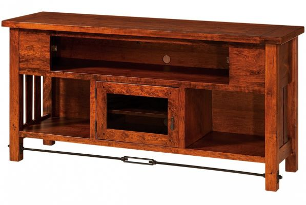 Tucson Solid Wood Tv Cabinet Countryside Amish Furniture