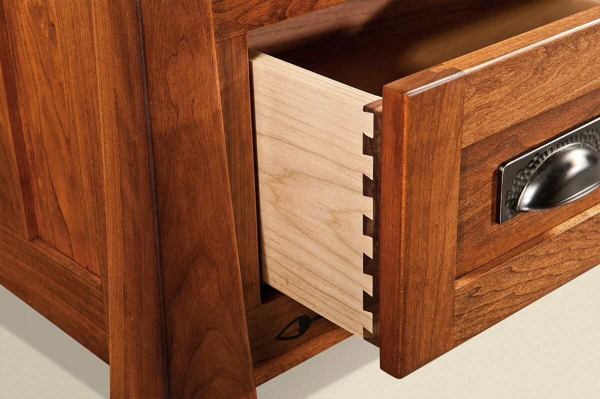 Dovetailed Storage Drawers