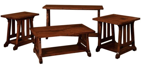 Amish Made Living Room Tables