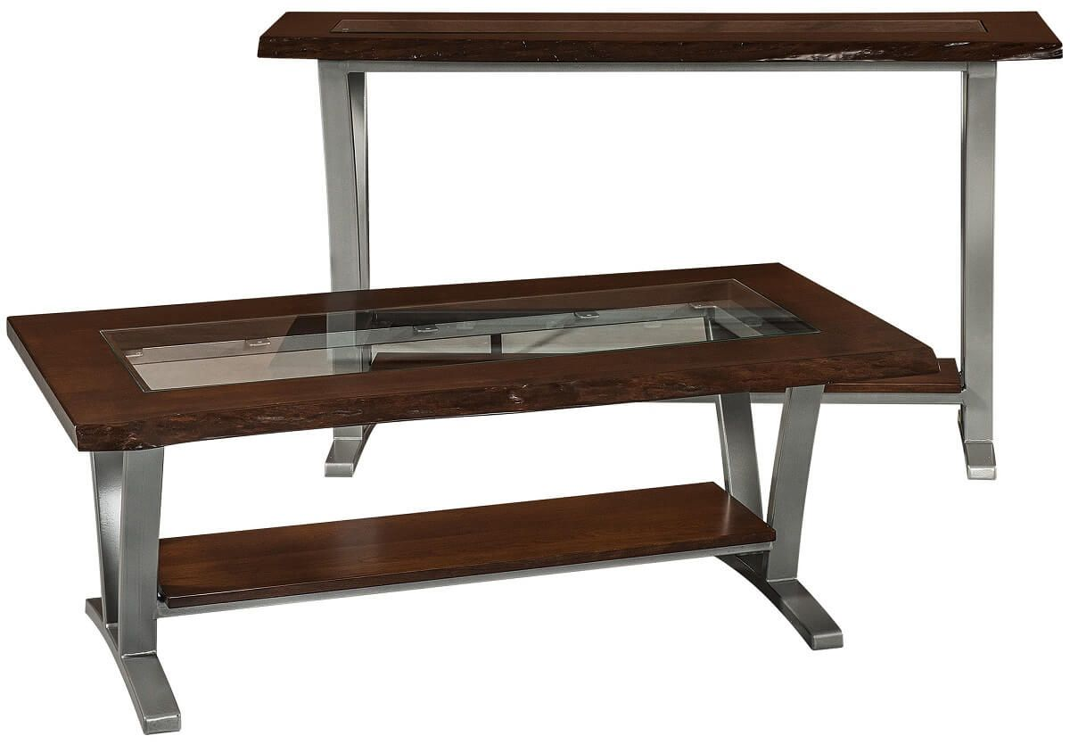 Tempered Glass Sofa Table