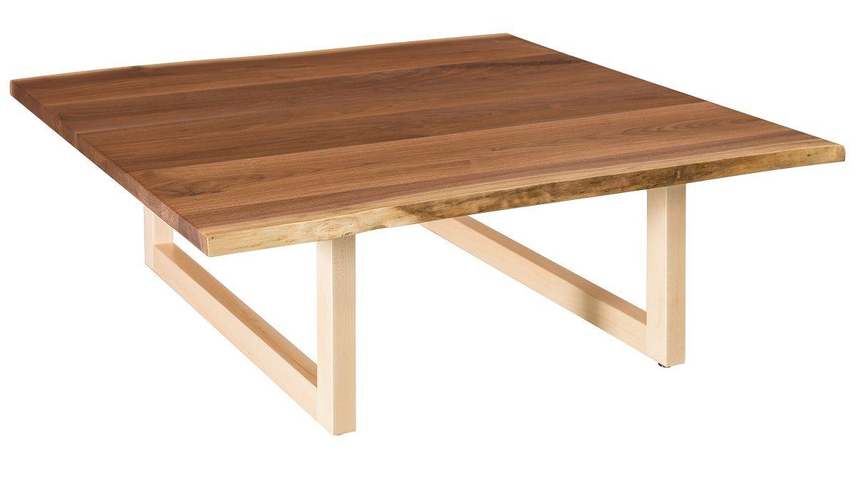 Lehigh Live Edge Square Coffee Table