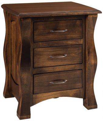 Edmond 3-Drawer Nightstand