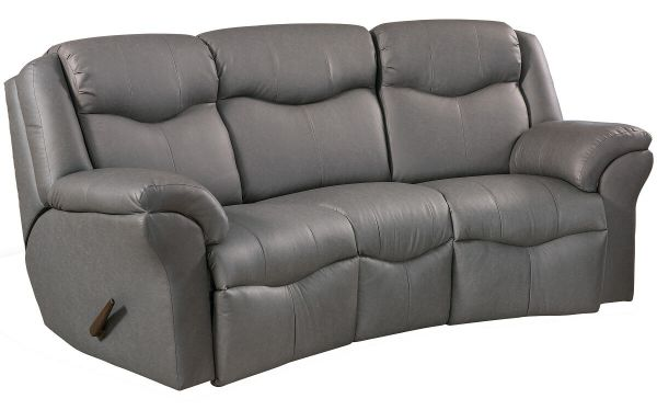 Groovy Kenwood Curved Reclining Sofa Caraccident5 Cool Chair Designs And Ideas Caraccident5Info