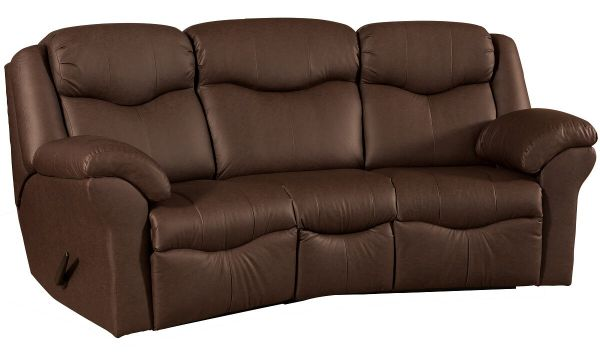 Kenwood Curved Reclining Sofa