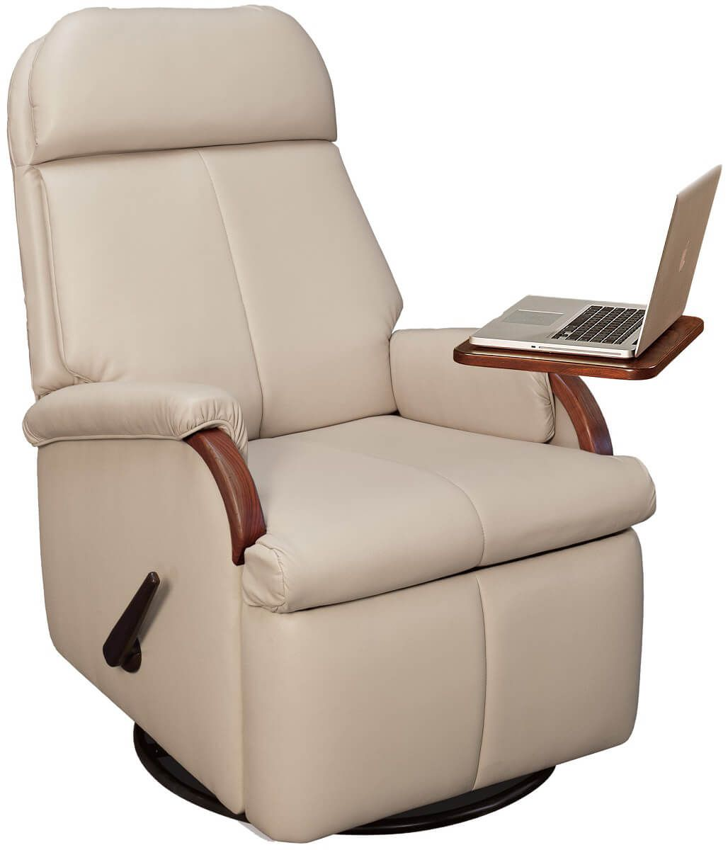 Roycroft Recliner with optional computer table