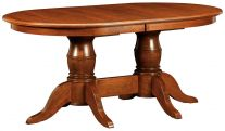 Montalban Double Pedestal Table