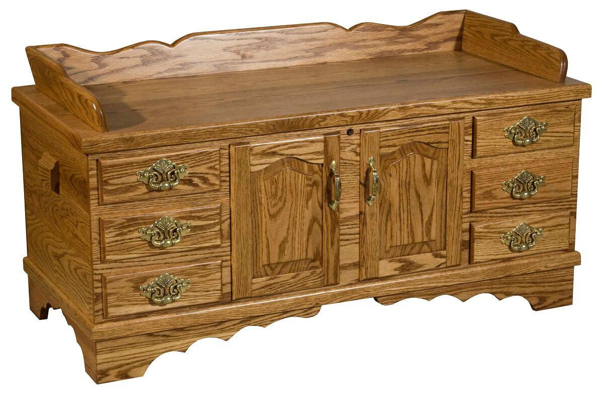 Gideon Classic Storage Bench