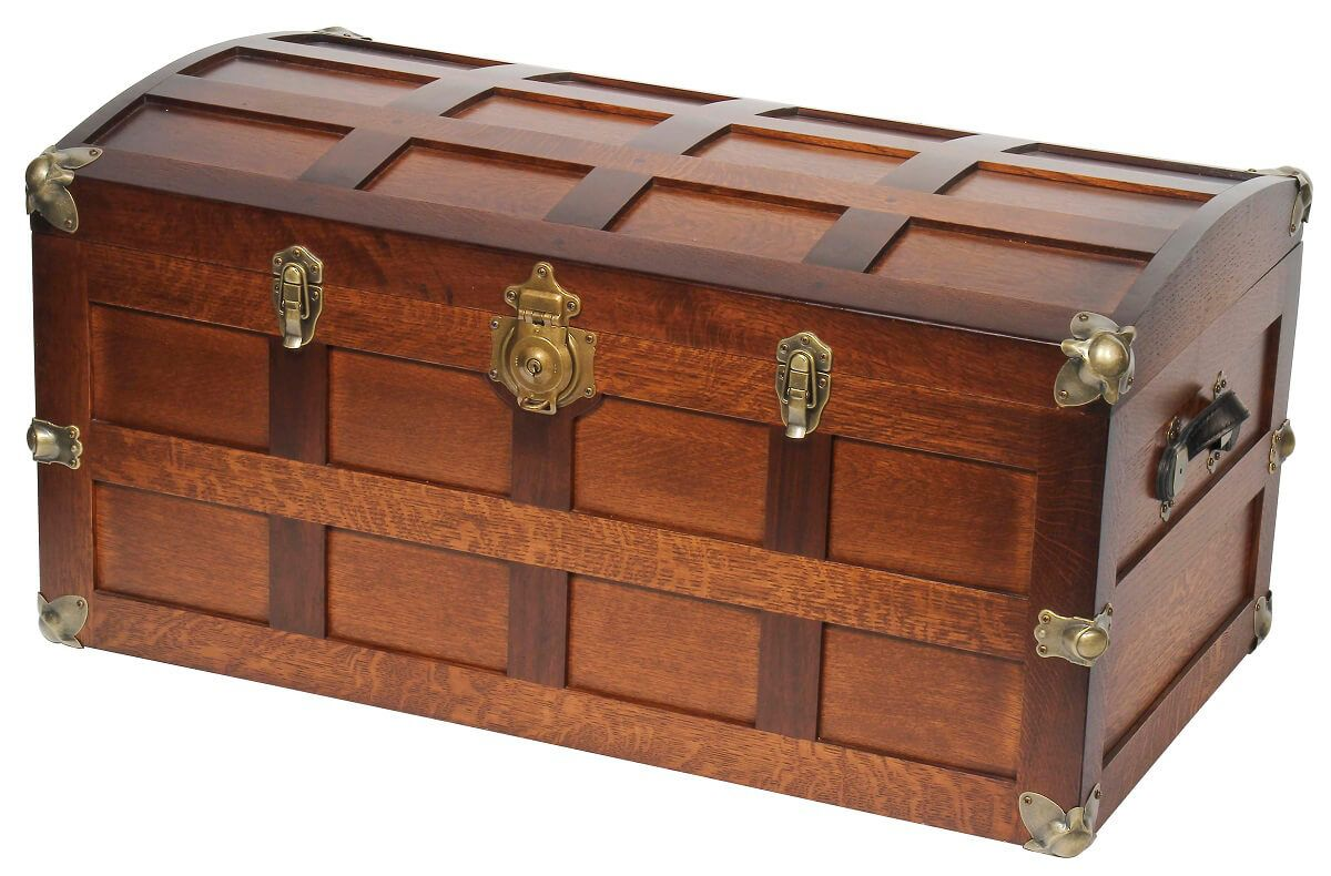 Crosby Amish Steamer Trunk