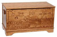 Macie Engraved Toy Box