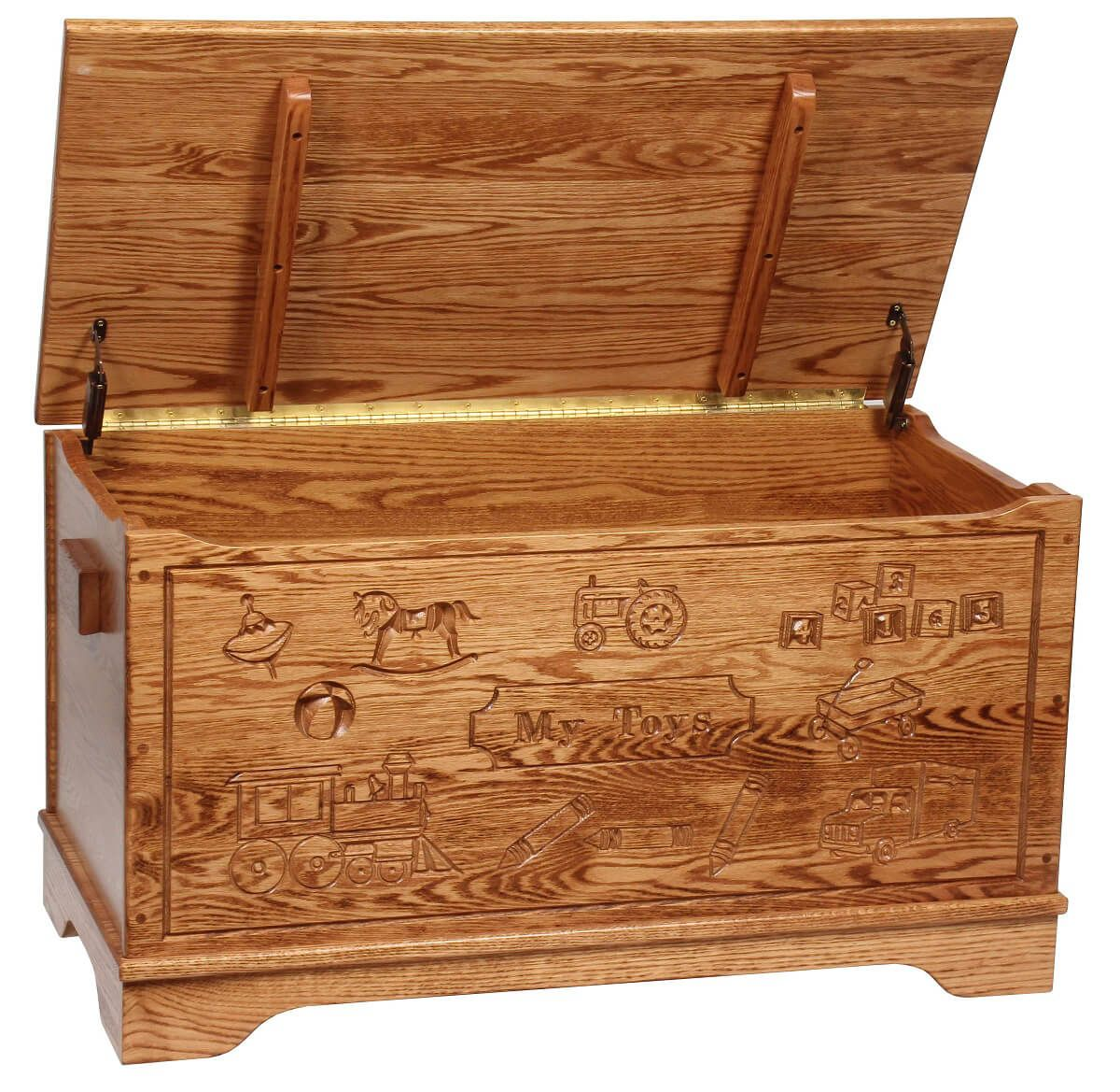 Incredible Macie Engraved Toy Box Ncnpc Chair Design For Home Ncnpcorg