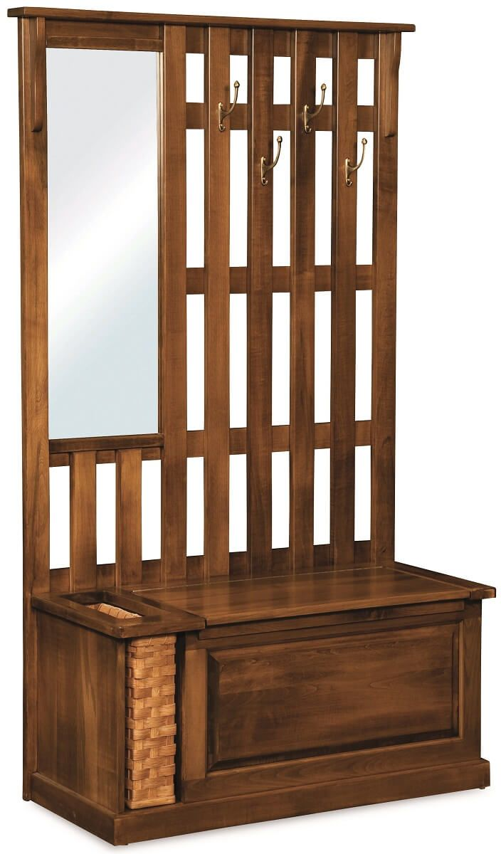 Belle Harbor Coat Rack Bench