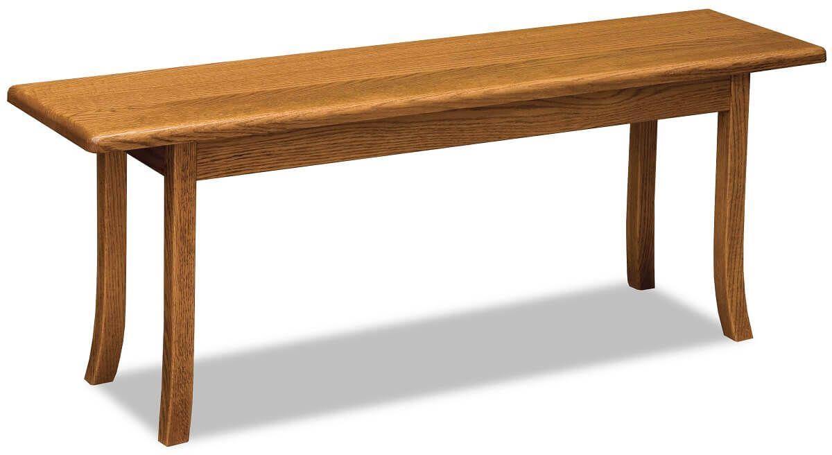 Shaker-style Hammond Bench