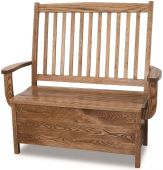 Harbor Springs Storage Bench