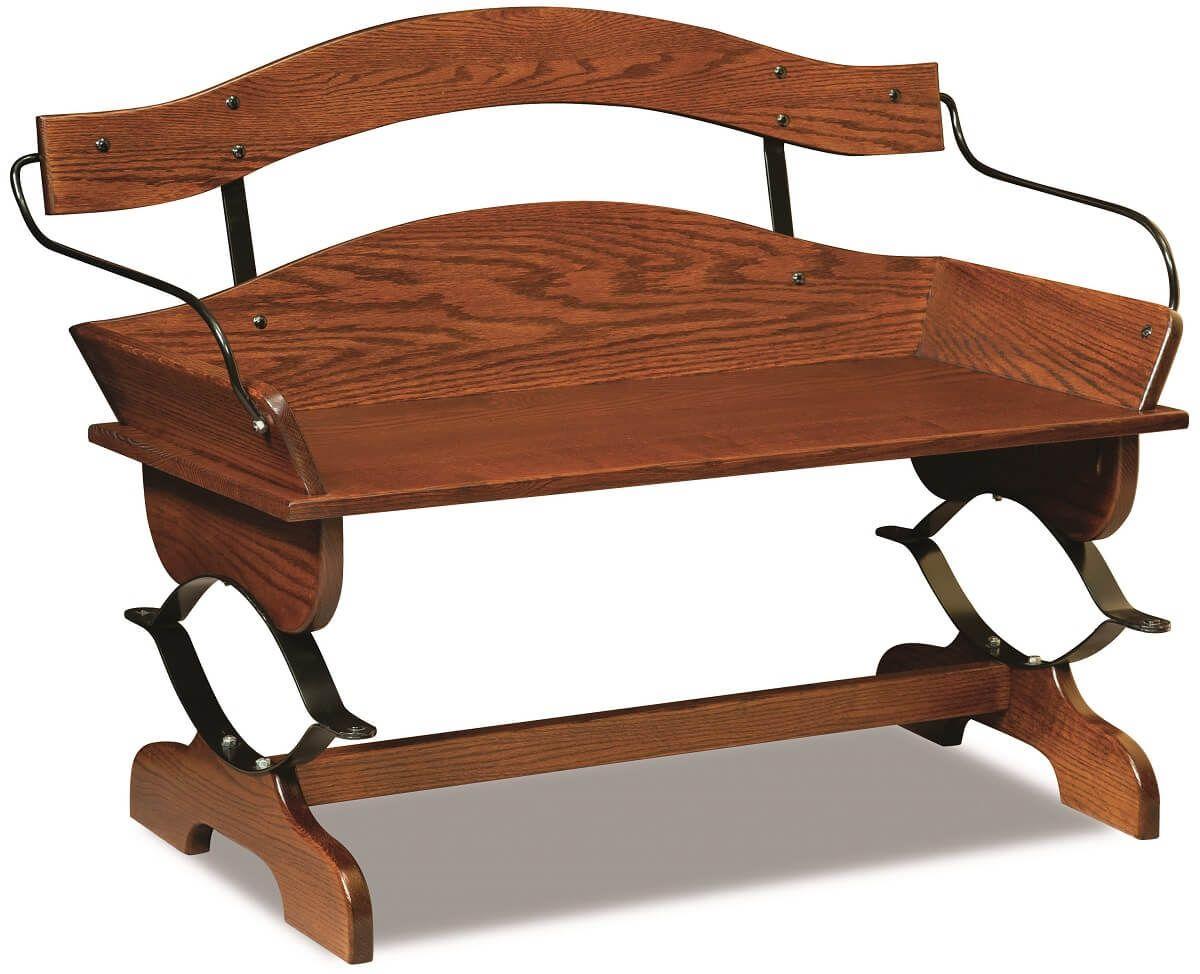Hutchinson Buckboard Bench