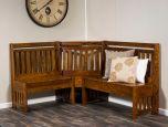 Silkwood Kitchen Breakfast Nook Countryside Amish Furniture