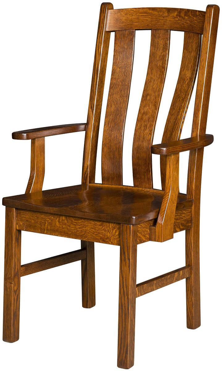 Arroyo Mission Arm Chair
