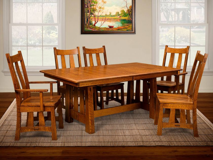 Coral Gables Craftsman Dining Set Countryside Amish