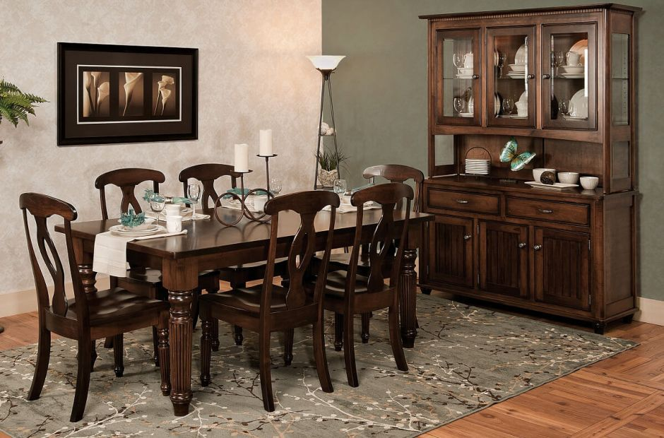 Duncanville Farmhouse Dining Set Countryside Amish Furniture