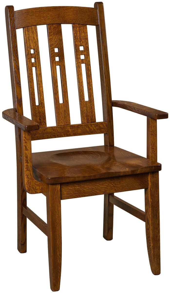 Elbridge Arts and Crafts Arm Chair