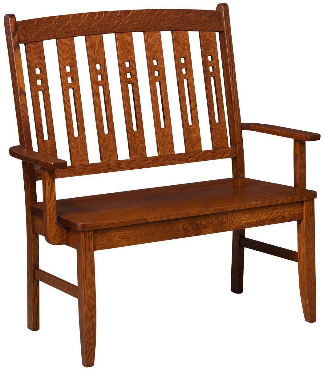 Elbridge Arts and Crafts Bench