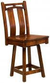Falling Water Swivel Pub Chair